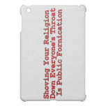Nasty Religion Pushers Cover For The iPad Mini