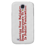 Nasty Religion Pushers Samsung Galaxy S4 Cover