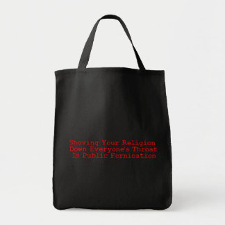 Nasty Religion Pushers Tote Bag