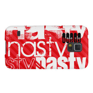 Nasty; Scarlet Red Stripes Galaxy S5 Case