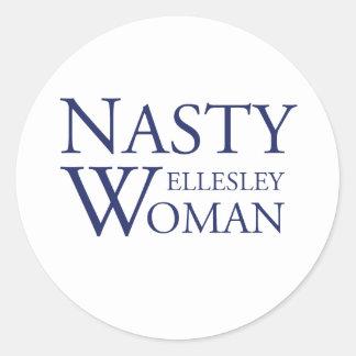 Nasty Wellesley Woman Stickers