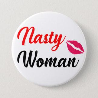 Nasty Woman, Feminist button
