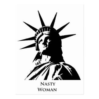 Nasty Woman Postcard