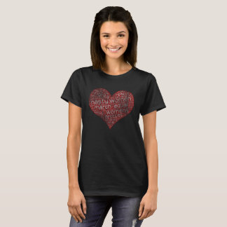 Nasty Women Heart Love T-Shirt