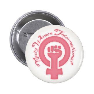 Nasty Women International Pinback Button