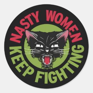 Nasty Women Keep Fighting Sticker