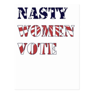 Nasty Women Vote Postcard
