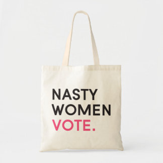 Nasty Women Vote Tote | Pink