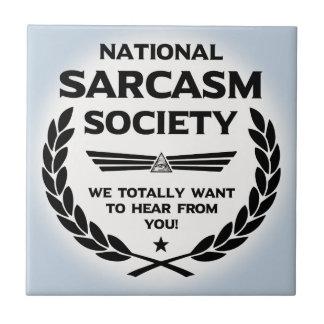 Nat' Sarc' Soc' -Hear Tile