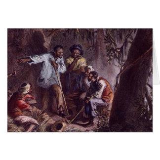 nat turner slave rebellion card
