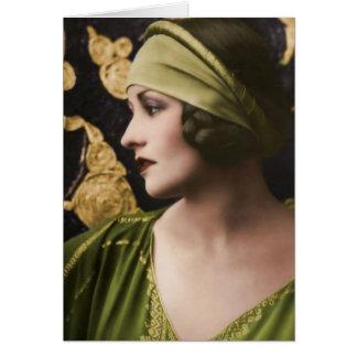 Natacha Rambova 1897-1966 Card