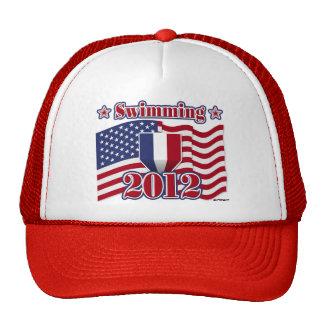 Natación 2012 gorra