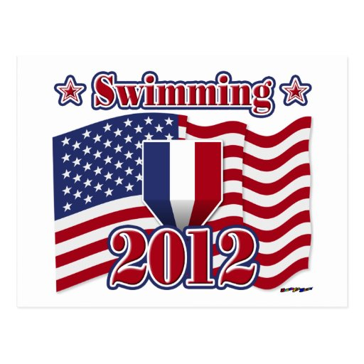 Natación 2012 postal