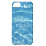 Natación acuática azul fresca clara del agua de la