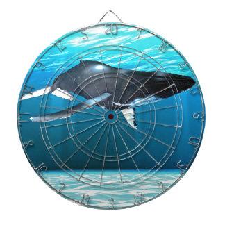 Natación de la ballena jorobada