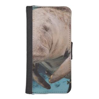 Natación de la vaca de mar billetera para iPhone 5