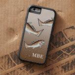 Natación de tres salmones funda para  iPhone 6 tough xtreme