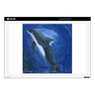 Natación del delfín portátil skin