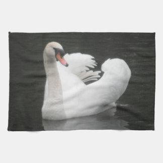 Natación del río del cisne de Placemat Toallas