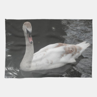 Natación del río del cisne del bebé de Placemat Toallas
