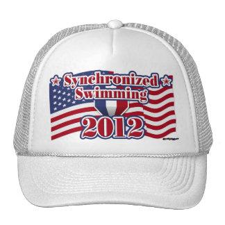 Natación sincronizada 2012 gorras de camionero