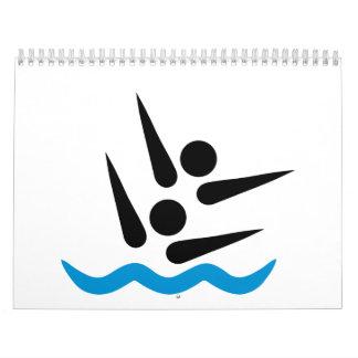Natación sincronizada calendario