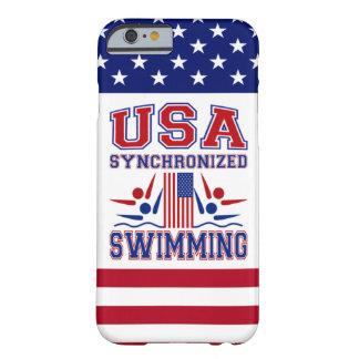 Natación sincronizada de los E.E.U.U. Funda De iPhone 6 Barely There