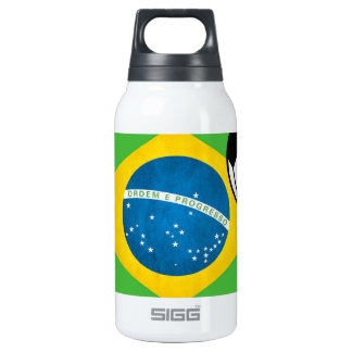 Natal Brazilian Flag 10 Oz Insulated SIGG Thermos Water Bottle