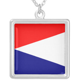Natal Square Pendant Necklace