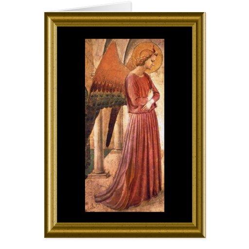 Natale de Buon - deseos italianos del navidad Tarjeta
