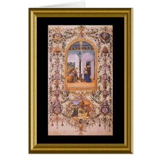 Natale de Buon - Prayer de señor en italiano Tarjeta