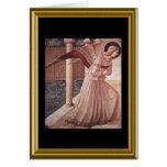 Natale de Buon - rezo de St Francis en italiano Tarjeta De Felicitación