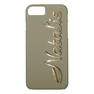 """""""Natalie"""" Custom Monogram iPhone 7 Case"""