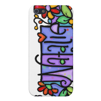 NATALIE hand-painted custom name Case For iPhone 5