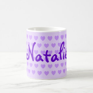Natalie in Purple Coffee Mug