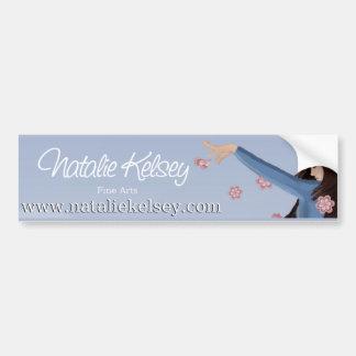 Natalie Kelsey Fine Arts Bumper Sticker