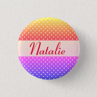Natalie name plate Anstecker Pinback Button