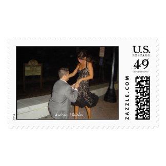 Natalie Pappas 3, Andrew & Natalie Postage Stamp