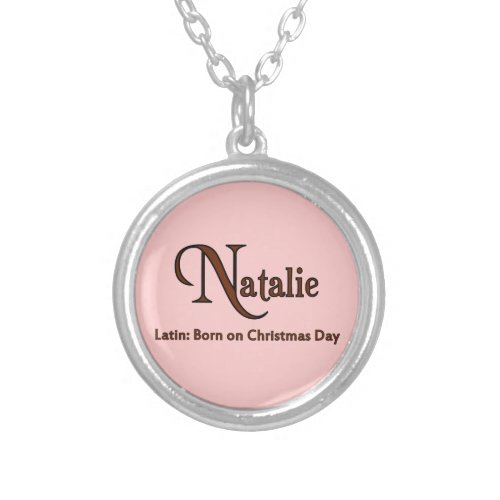 Natalie Silver Plated Necklace