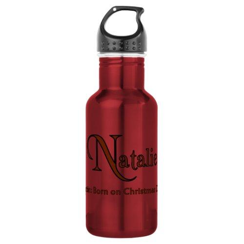 Natalie Water Bottle