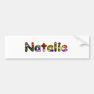 Natalie's Bumper Sticker
