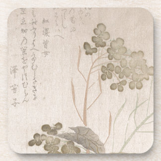 Natane Flower - Japanese Origin - Edo Period Coaster