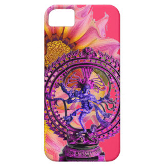 NATARAJ SHIVA CASE WITH BURSTING SUNFLOWERS iPhone 5 CASES