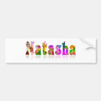 Natasha Bumper Sticker