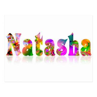 Natasha Postcard