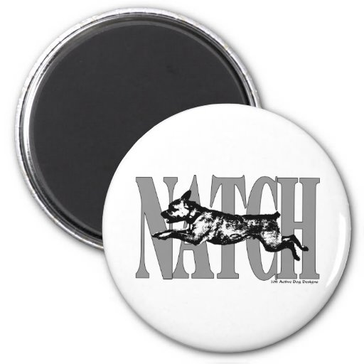 NATCHBorderT Refrigerator Magnet