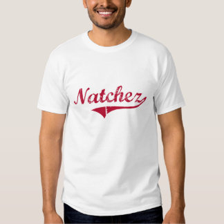 Natchez Mississippi Classic Design Tee Shirt