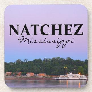 Natchez, Mississippi debajo del río de la opinión  Posavaso