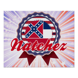 Natchez, ms poster