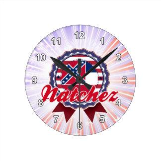 Natchez, ms reloj